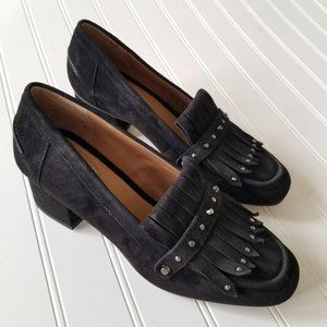 NEW! Franco Sarto 6 1/2 Leather Loafer w/ Heel